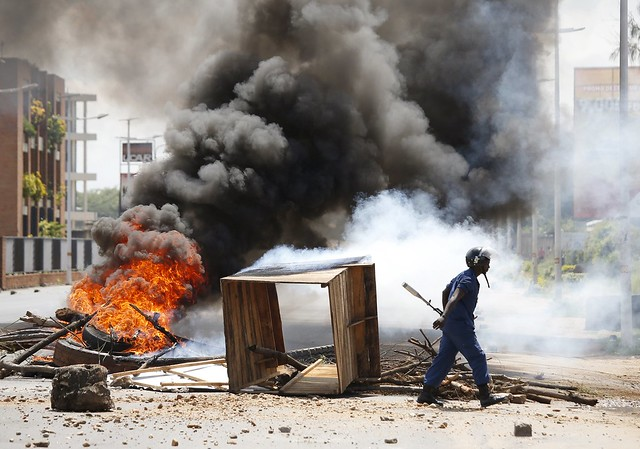 Clashes in Burundi During the Current Crisis