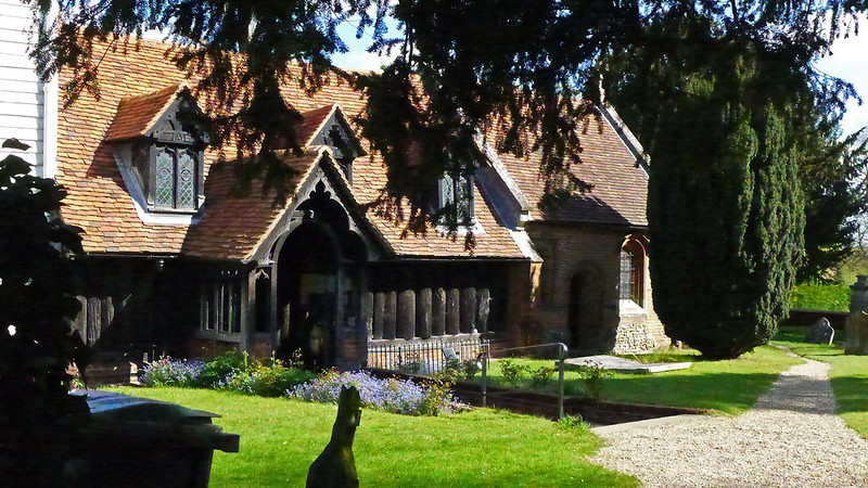 Greensted Church Porch