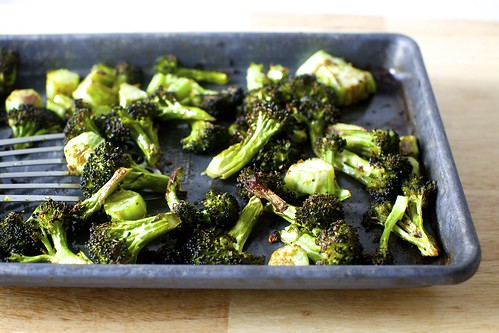 crispy broccoli with lemon and garlic | smitten kitchen