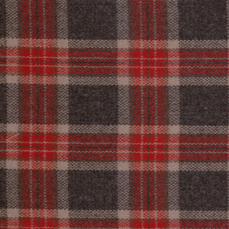 格子 外套 大衣 毛料套裝 背心裙洋裝 冬季服裝布料 GC2490012