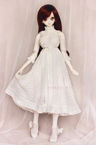 Dreamy white dress for DD