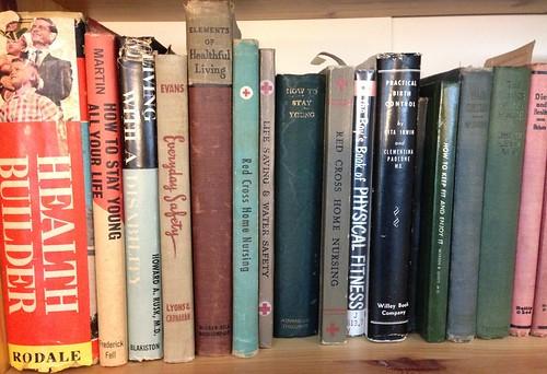 Miss Abigails Bookshelf Shelf 1 Row 4 Part Health