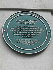 Photo of Frederick Stanley green plaque