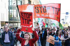 Anti-TTIP demonstration in Brussels