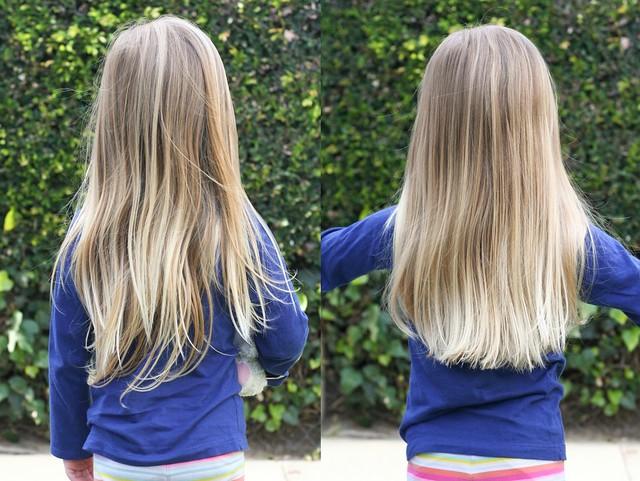 her first haircut | yourwishcake.com