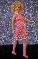 Vintage Twist n' Turn Francie - blonde flip