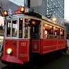 The Taksim tram in Instanbul.