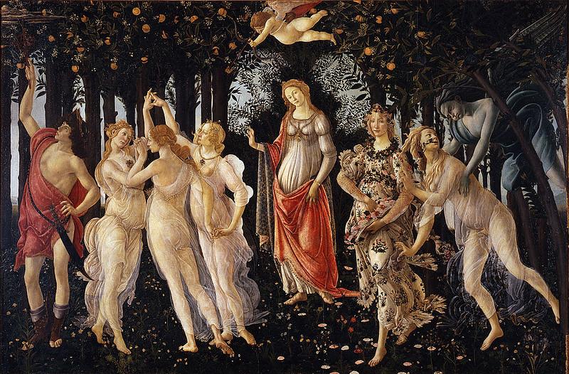 """""""Primavera"""" by Sandro Botticelli"""