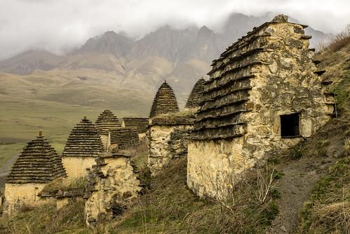Dargavs. North Osetia. Russia