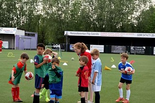 Zomer-outdoor trainingsessies