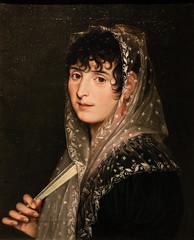 Zacarías González Velázquez, Portrait of a Lady with a Fan, c. 1805-10, Meadows