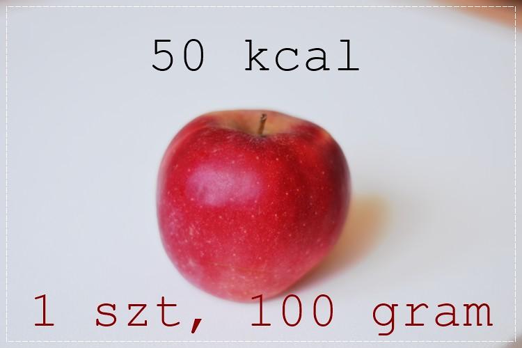 jabłko waga