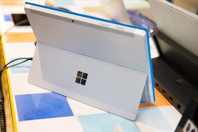 性能價格平衡新選擇 – 微軟 Surface 3 平版新機發表體驗會動手玩 @3C 達人廖阿輝
