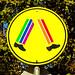 117/365 Rainbow Crossing #diyrainbow #altered #roadsign #sign #crossing #rainbow #australia #sydney #photoaday by Paul D Wade