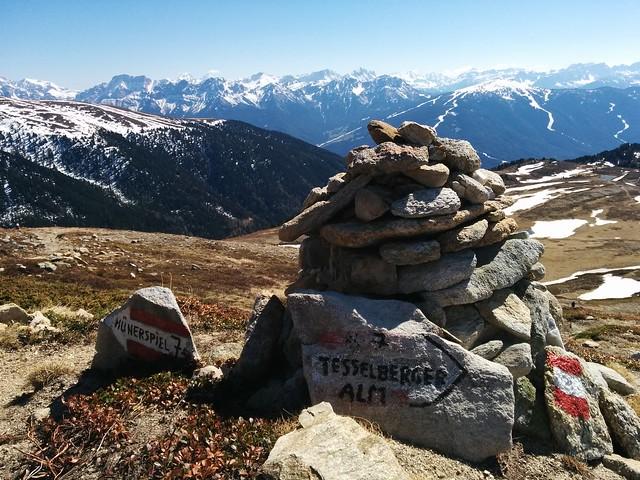 Abstieg Schönbichl zur Tesselberger Alm