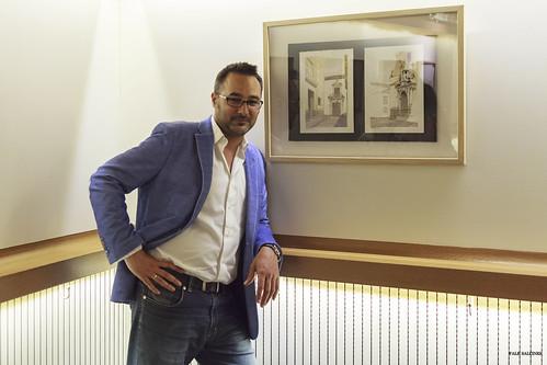 Exposición de dibujos en Bodegas Campos