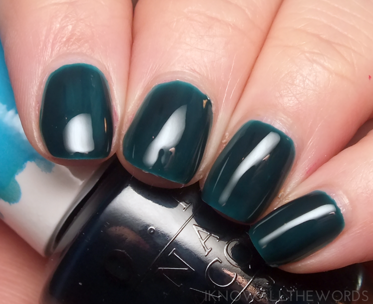 opi colour paints turquoise aesthetic