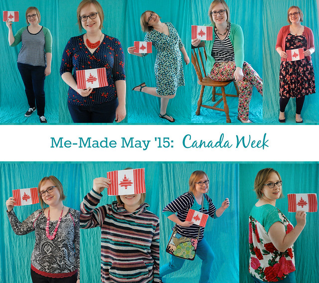 Canada Week Collage