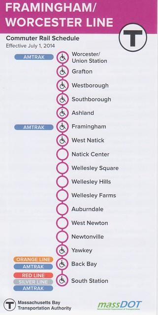 Worcester-Framingham 2014 Schedule