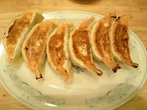 ぎょうざの満洲 焼餃子