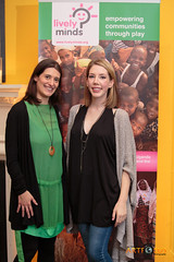 Katherine Ryan and our Founder Alison