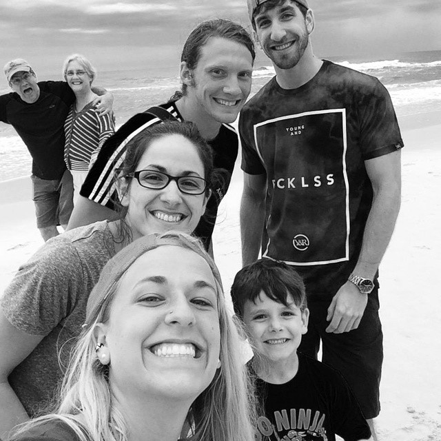 Best photo bomb ever award goes to random couple walking on the beach. #adollopofvacation2015