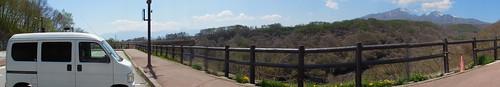 八ヶ岳高原大橋とアクティバン