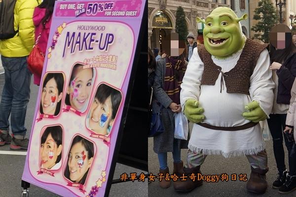 日本大阪環球影城哈利波特進擊的巨人05