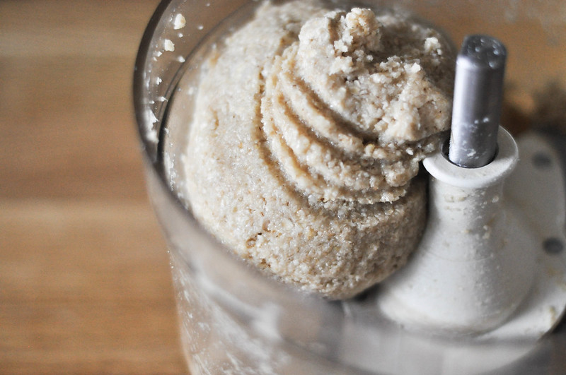 almond meal thumbprint cookie dough