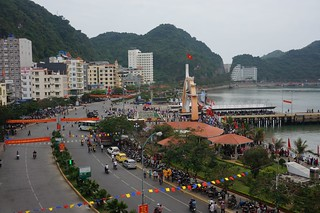 A view from our 2nd hotel in Cat Ba