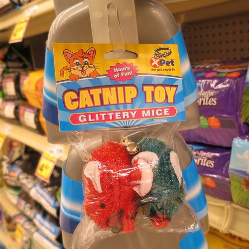 glittery mice