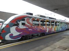 Graffiti trains
