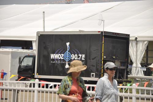 The WWOZ Broadcast Truck