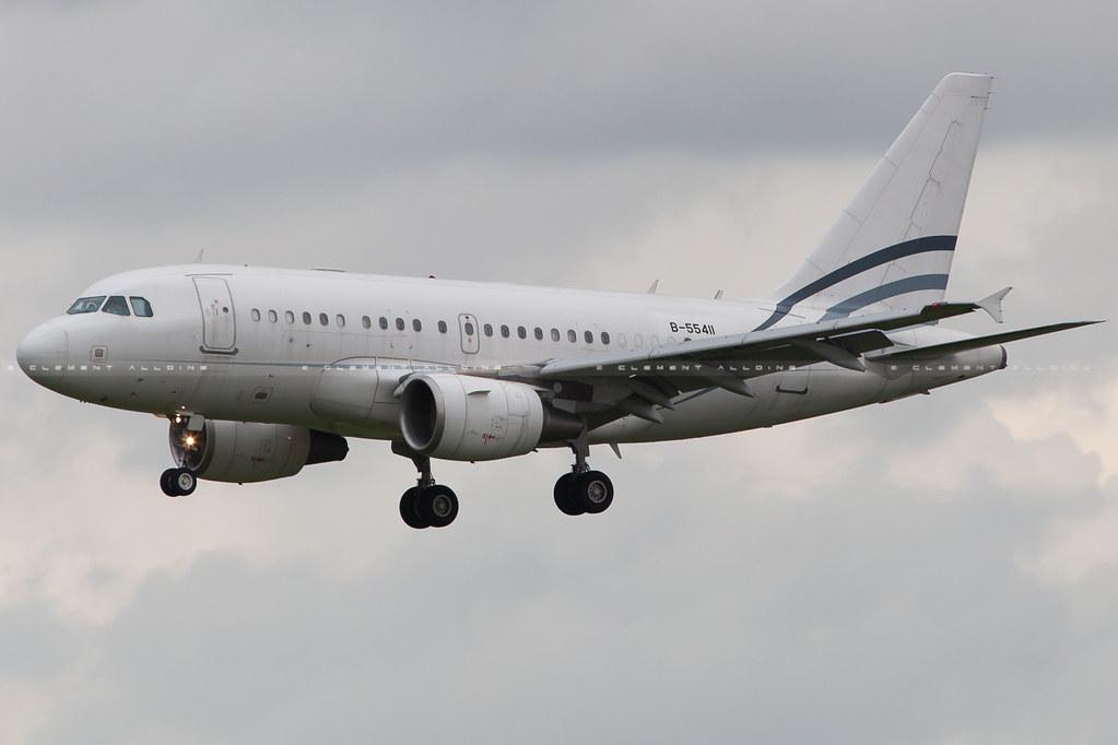 B-55411 - A318 - Fly SAX