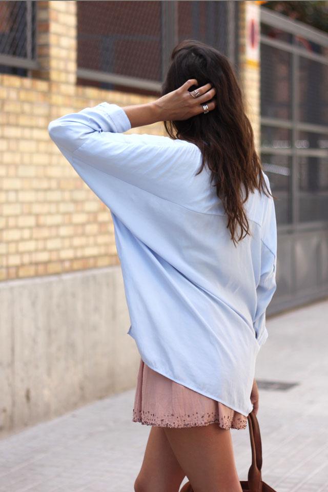 bleu blouse coohuco 12