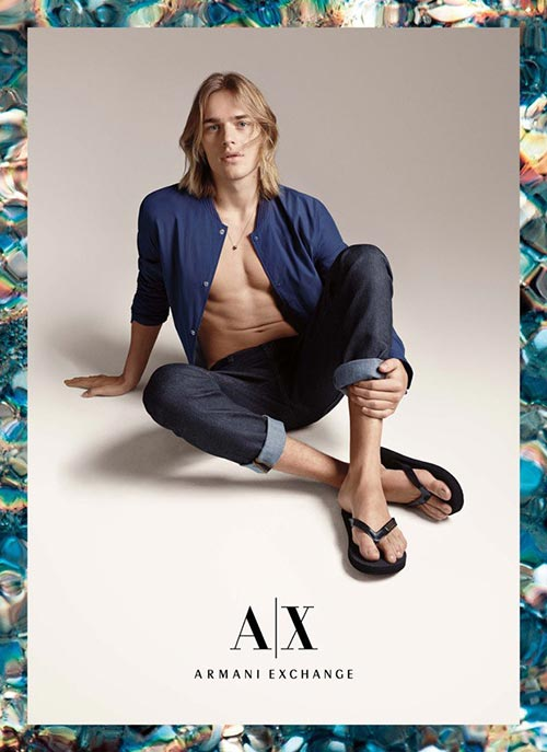 Armani Exchange Summer 2015 Campaign