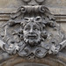 Smiling bearded man mascaron by Monceau