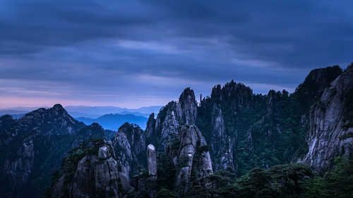 china longexposure blue bluehour predawn anhui