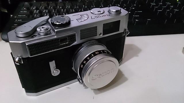 Canon 7 旁軸相機 調焦維修