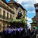 Procesion 2016 de la Soledad. Archicofradia del Santo Entierro. Sabado Santo, Oviedo, Asturias, España.