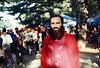 Practicing the analog photography on my friend at Georgian Wine Festival. #nofilter  #tbilisi #instatbilisi #georgia #instageorgia #winefestival #georgianwine #red #beard #instagood #picoftheday #photooftheday #analog #filmphotography #zenit #camera #comp