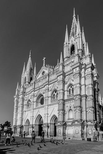 elsalvador kirche santaana strase street church sv