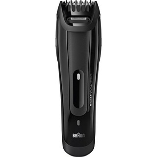 Braun Beard Trimmer BT5070, Men's electric face trimmer with detail trimmer and styler