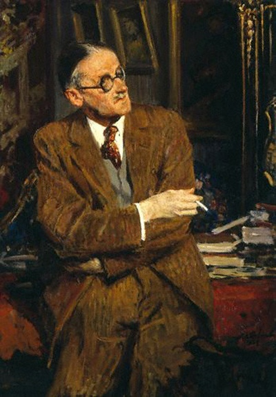 James Joyce by Jacques-Émile Blanche