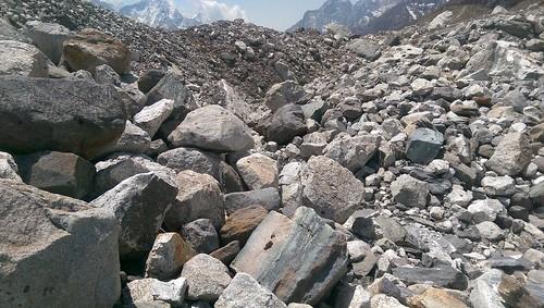 Inside glacier Himalayas