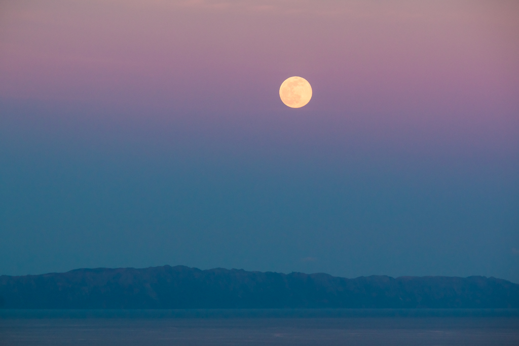 Moonrise over Desertas