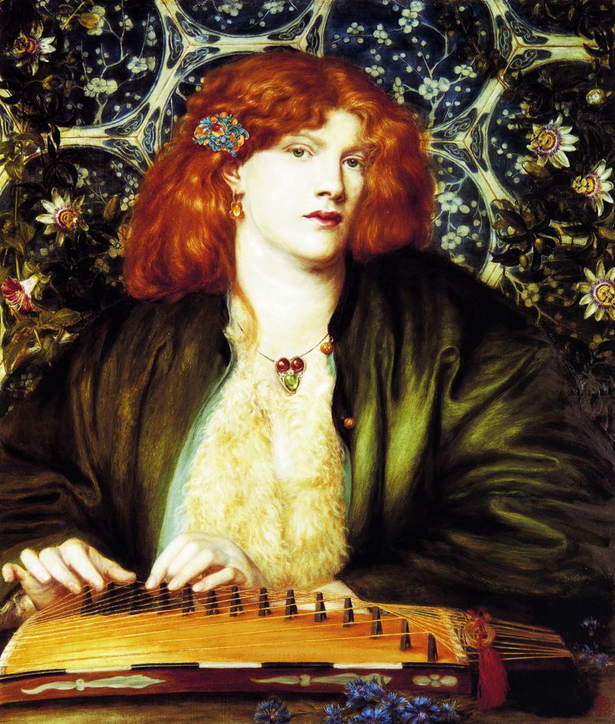 The Blue Bower by Dante Gabriel Rossetti - 1865