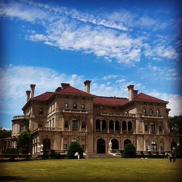 The Breakers mansion #newport #rhodeisland #mansion