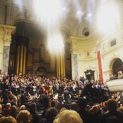 Full house at #cityhall #capetown #capephilharmonicorchestra #schumann #aminor #opus54 #saintsaens #no3 #cminor #opus78 #organ #classicalmusic #amazing #music