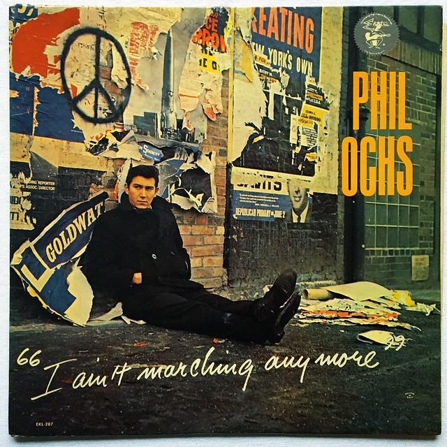 Phil Ochs - 1960s Vintage Vinyl LP Record